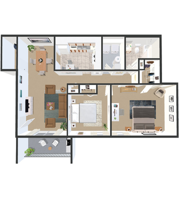 Floor Plans Partridge Meadows Apartments